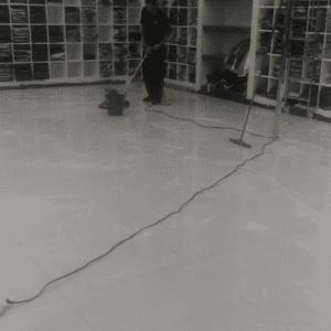 Limpeza e restauração de pisos